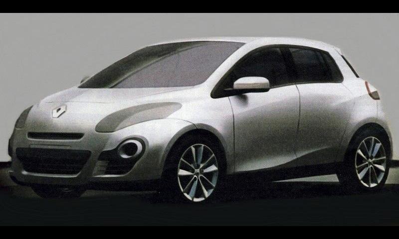 Недалёкое будущее - Renault Clio