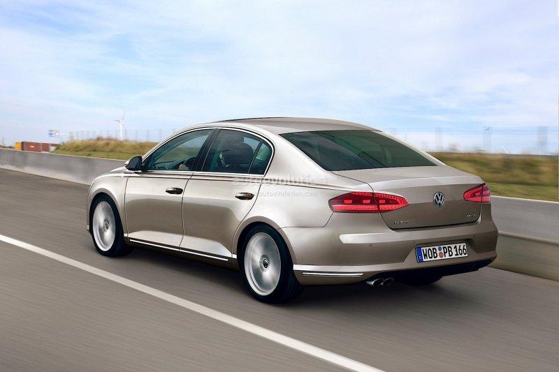 Новый VW Passat – презентация модели восьмого поколения ожидается в июле