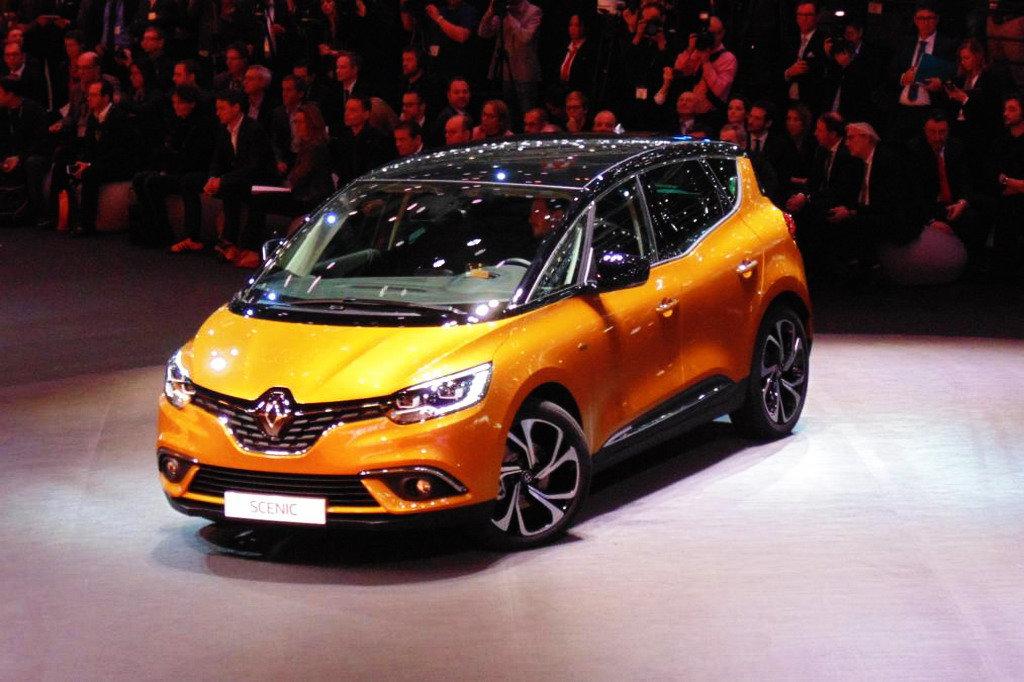 Премьеры Renault на Женевском автосалоне 2016