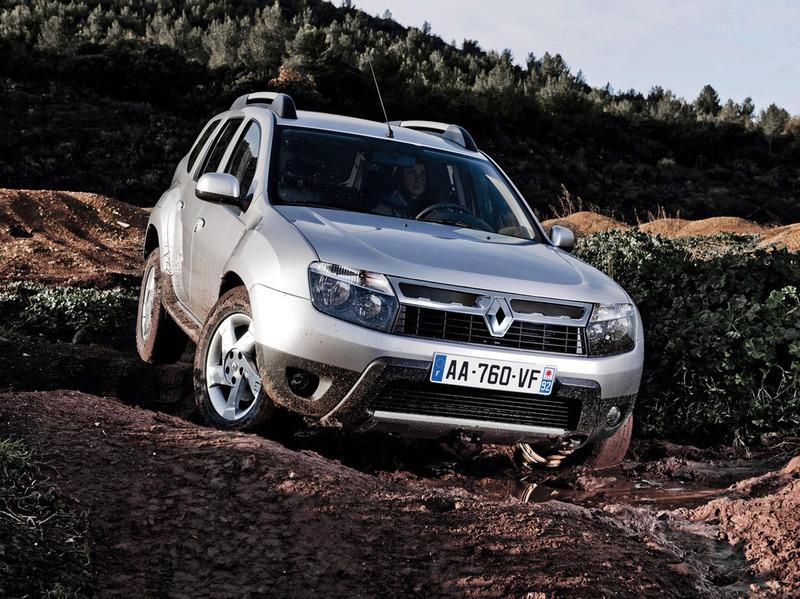 Renault Duster получает ESP и навигационную систему