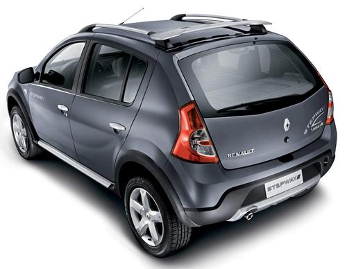 Renault показал внедорожник Stepway на базе Sandero