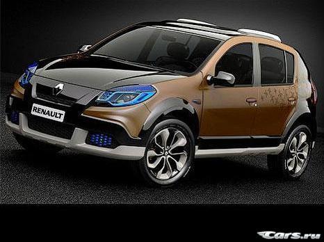 Renault превратил Sandero Stepway в модника