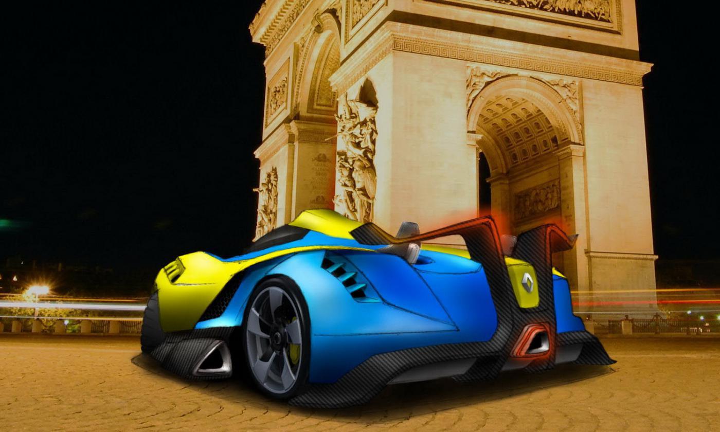 Создан прототип гоночного автомобиля Renault